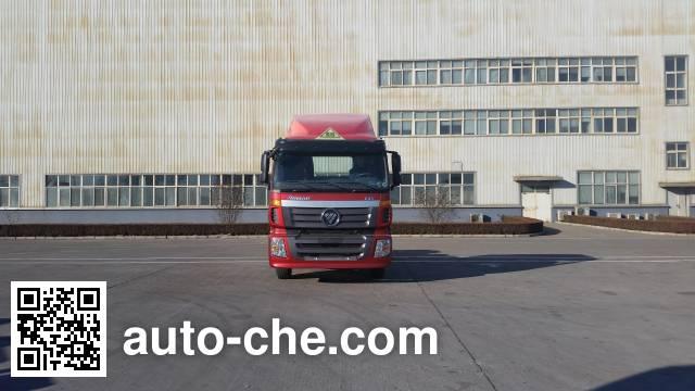 Foton Auman BJ4253SNFKB-XM dangerous goods transport tractor unit