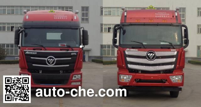 Foton Auman BJ4189SLFKA-AC dangerous goods transport tractor unit