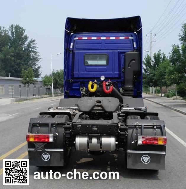 Foton Auman BJ4259SNFKB-AH dangerous goods transport tractor unit