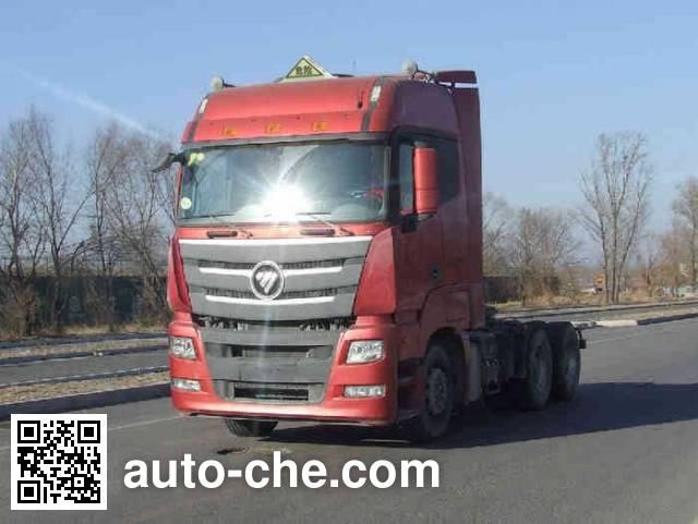 Foton Auman BJ4259SNFKB-XL dangerous goods transport tractor unit
