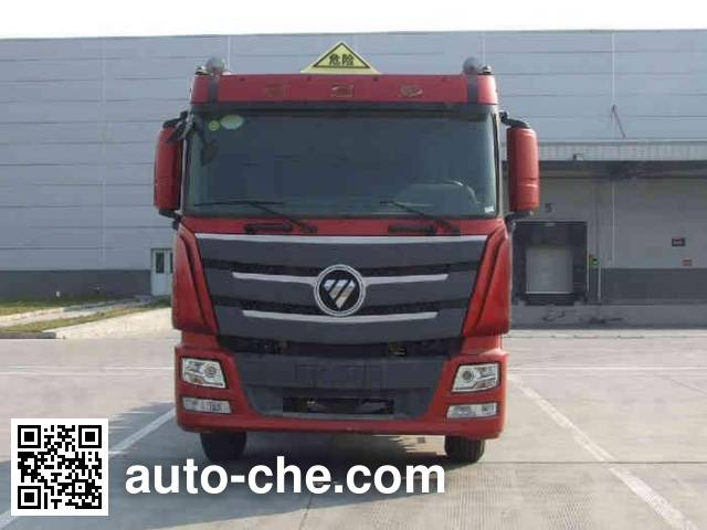 Foton Auman BJ4259SNFKB-XL dangerous goods transport tractor unit