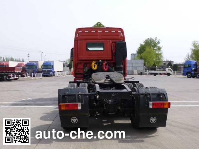 Foton Auman BJ4259SNFKB-XM dangerous goods transport tractor unit
