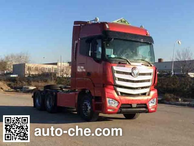 Foton Auman BJ4269SNFKB-AB dangerous goods transport tractor unit