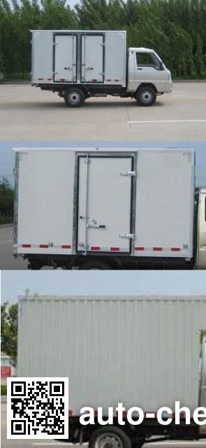 Foton BJ5030XXY-D3 box van truck