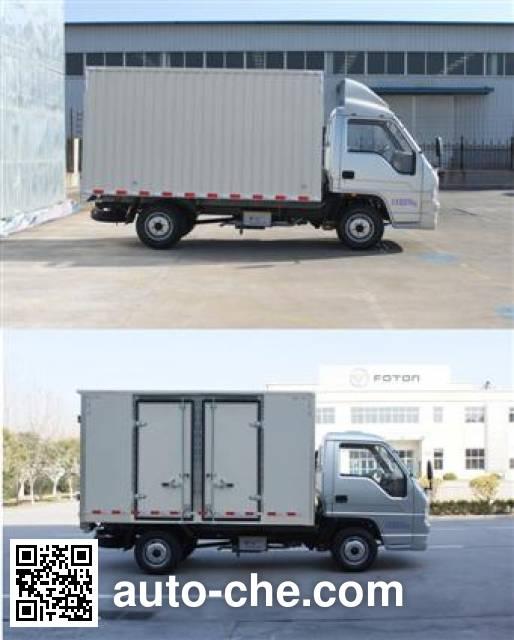 Foton BJ5036XXY-N7 box van truck