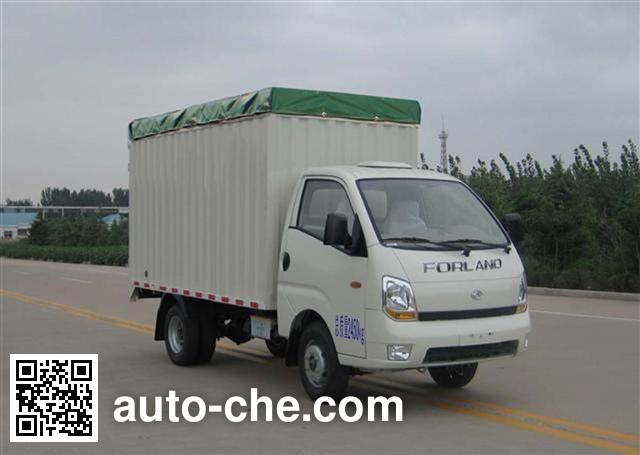 Foton BJ5026CPY-J soft top box van truck