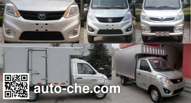 Foton BJ5026XXY-D1 box van truck