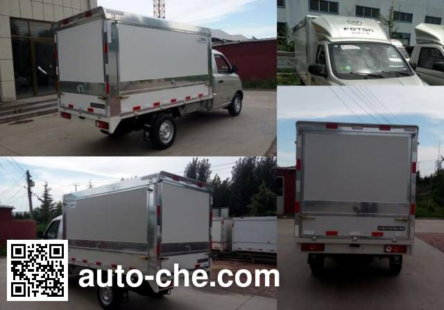 Foton BJ5026XYK-A1 wing van truck