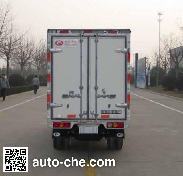 Foton BJ5030XXY-D5 box van truck