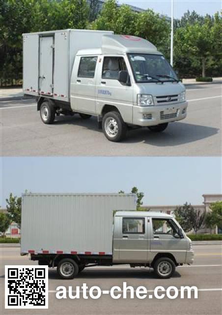 Foton BJ5030XXY-F4 box van truck
