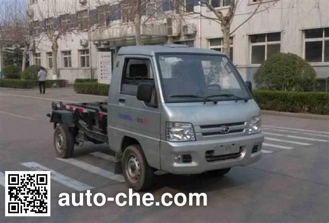 福田牌BJ5030ZXX-E2车厢可卸式垃圾车