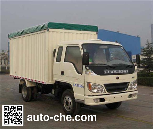 Foton BJ5033V3CD6-S1 soft top box van truck