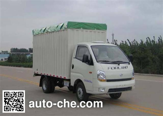 Foton BJ5036CPY-B soft top box van truck