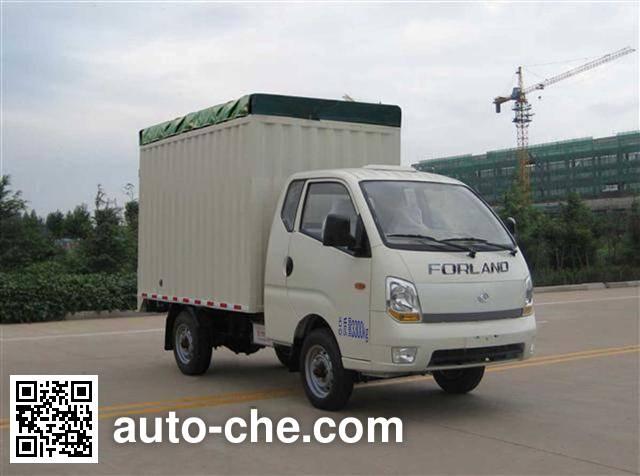 Foton BJ5036CPY-P soft top box van truck