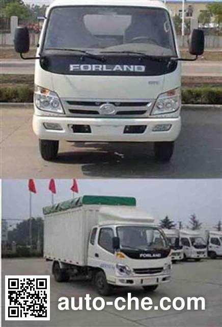 Foton BJ5036V3CD4-S1 soft top box van truck