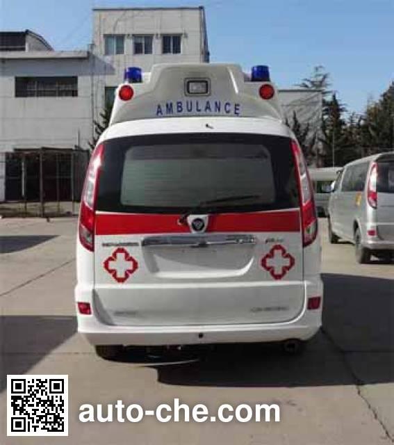 福田牌BJ5036XJH-XN监护型救护车