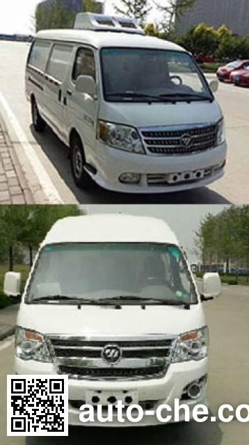Foton BJ5036XLC-XB refrigerated truck