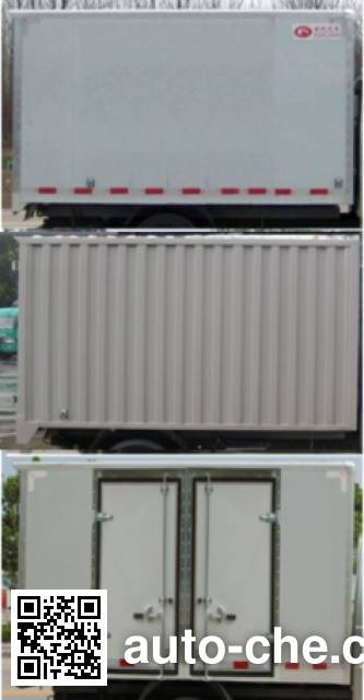 Foton BJ5036XXY-BD box van truck
