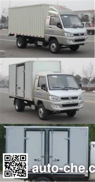 福田牌BJ5036XXY-N1厢式运输车