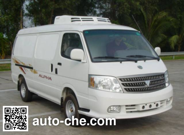 Foton BJ5036Z3ZW5-S refrigerated truck