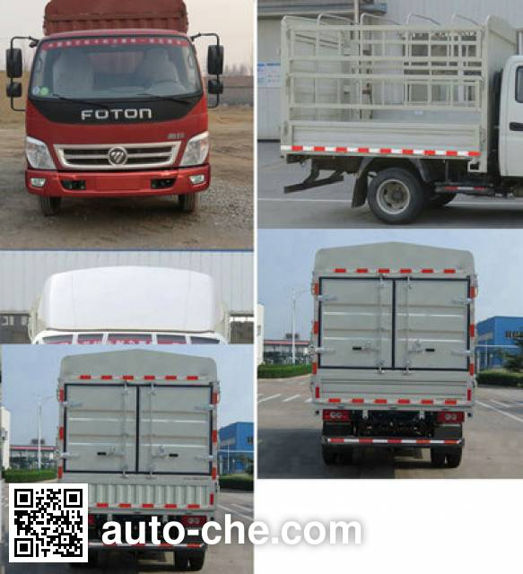 Foton BJ5041CCY-A2 stake truck