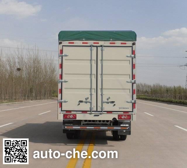 Foton BJ5041V8BEA-S2 soft top box van truck