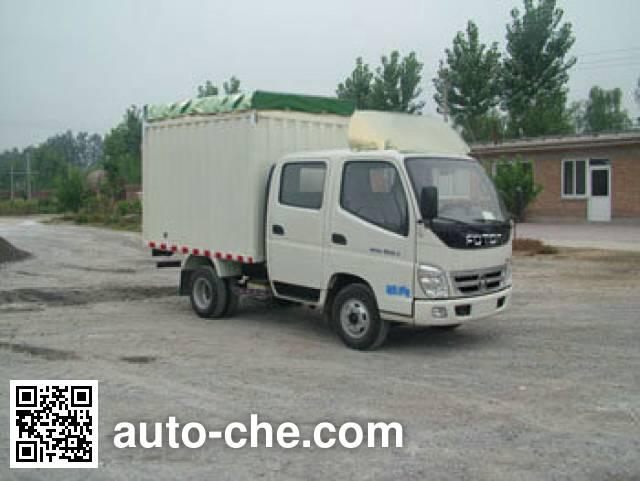 Foton BJ5041V8DEA-S2 soft top box van truck