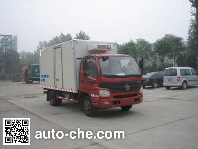 Foton BJ5041XLC-FB refrigerated truck