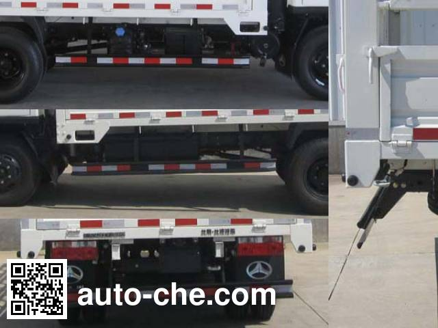BAIC BAW BJ5042CCYP10HS грузовик с решетчатым тент-каркасом