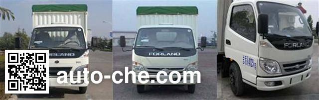Foton BJ5042CPY-X1 soft top box van truck