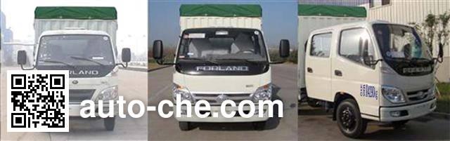 Foton BJ5042CPY-X3 soft top box van truck