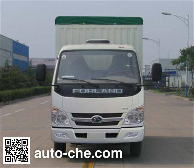 Foton BJ5042V9CB5-C soft top box van truck