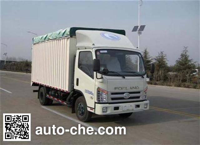 Foton BJ5043CPY-B1 soft top box van truck