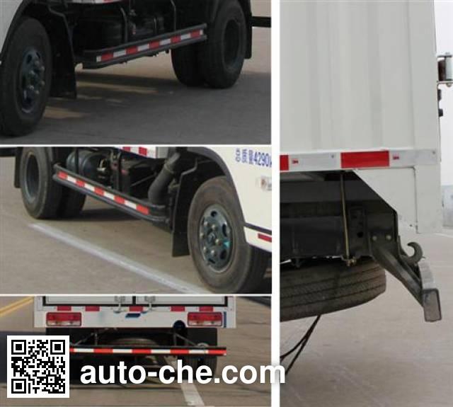 Foton BJ5043CPY-H soft top box van truck