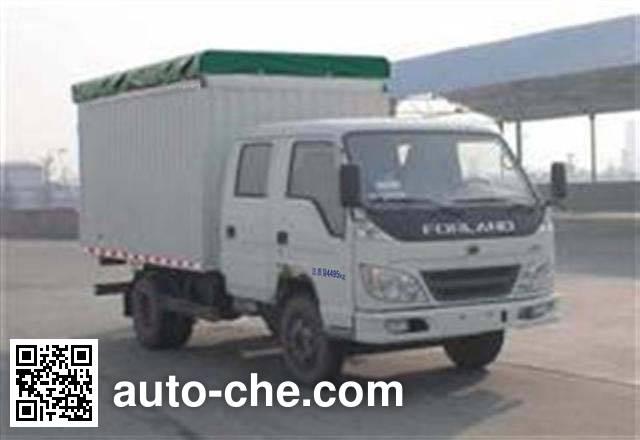 Foton BJ5043V8DDA-C soft top box van truck