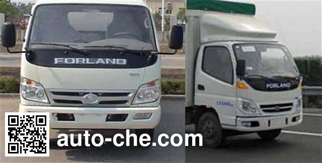 Foton BJ5043V9BDA-C soft top box van truck