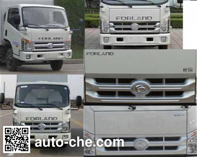 Foton BJ5043V9BEA-D box van truck