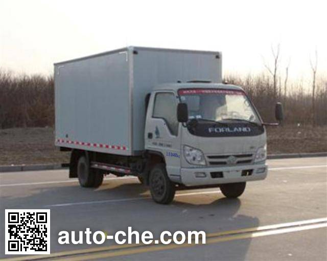 Foton BJ5043XBW-A1 insulated box van truck