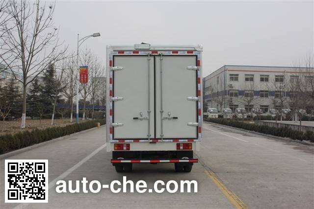 Foton BJ5043XWT-A mobile stage van truck