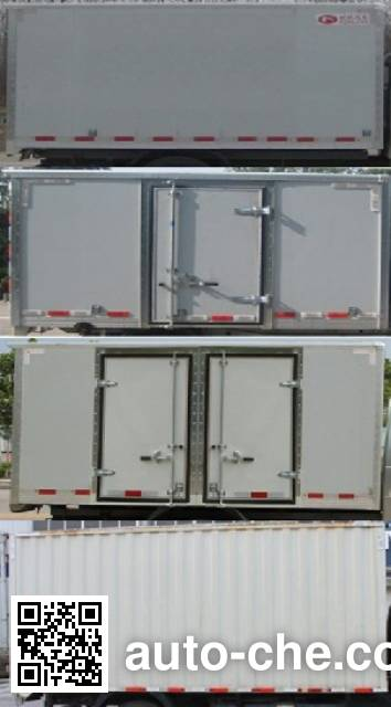 Foton BJ5043XXY-FA box van truck