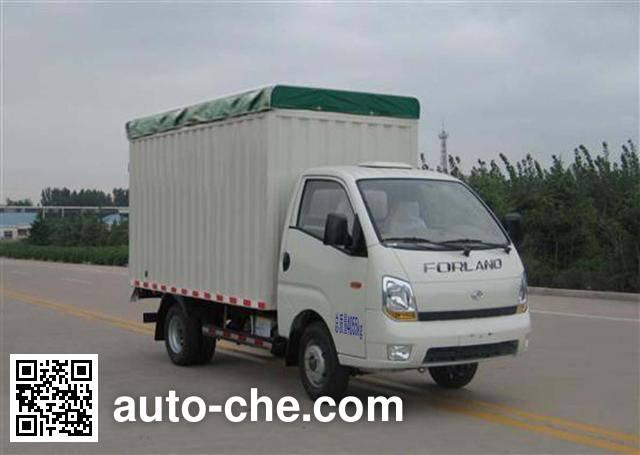 Foton BJ5046CPY-A1 soft top box van truck
