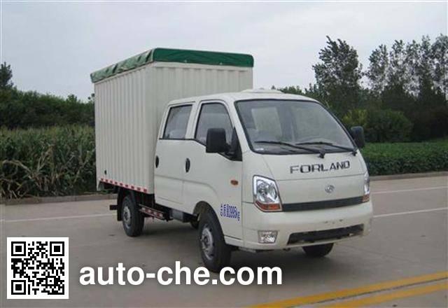 Foton BJ5046CPY-A3 soft top box van truck