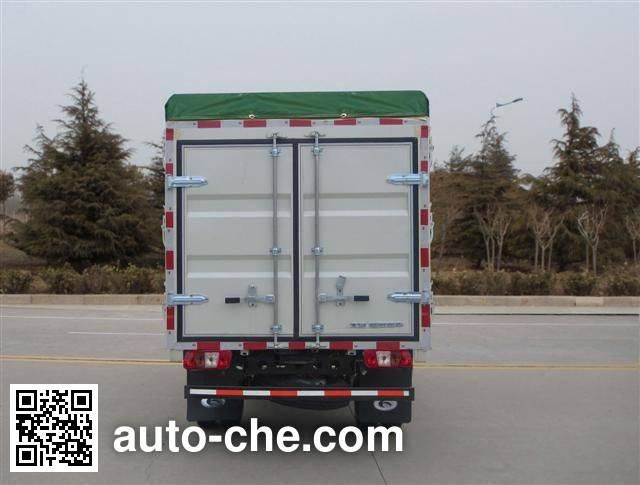 Foton BJ5046CPY-H1 soft top box van truck