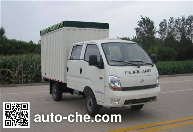 Foton BJ5046CPY-H3 soft top box van truck