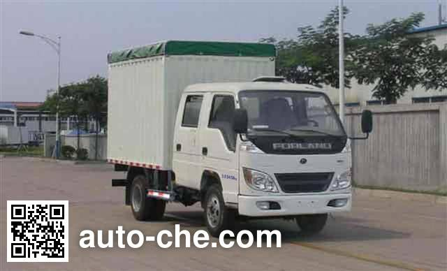 Foton BJ5046V8DDA-B soft top box van truck