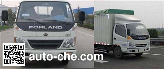 Foton BJ5046V9BB5-B soft top box van truck