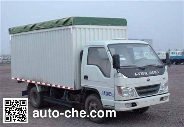 Foton BJ5046V9BD5-S2 soft top box van truck