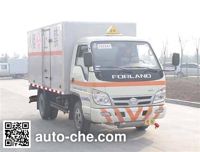 Foton BJ5046V9BD5-S3 dangerous goods transport vehicle
