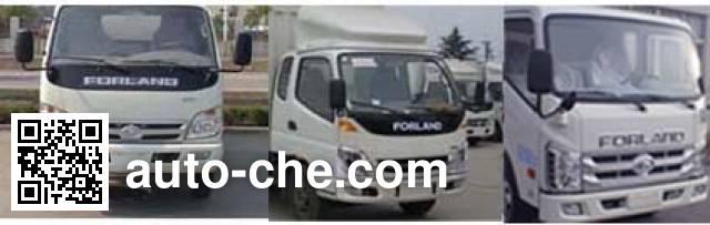Foton BJ5046V9CB4-C soft top box van truck
