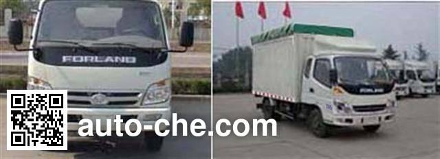 Foton BJ5046V9CD5-S2 soft top box van truck